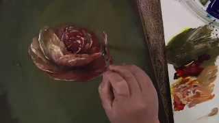 getlinkyoutube.com-Flow Texture Technique - A Palette of Flowers Book Video 5