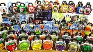 getlinkyoutube.com-鎧武最終回の記念動画!【この1年間で集めたロックシードの数を数えてみた】DX・食玩・ガシャポン・レジェンド・カプセル・ばんそうこう 仮面ライダーガイム
