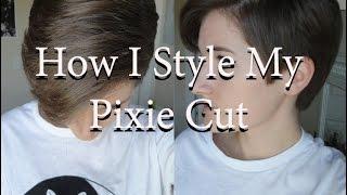 getlinkyoutube.com-How I Style My Pixie Cut - TUTORIAL (requested)