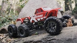 getlinkyoutube.com-Exceed RC MadTorque 6X6 Crawler in Action 4K