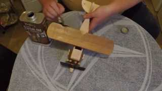 getlinkyoutube.com-making a wooden toy biplane