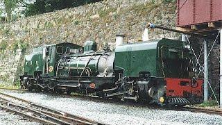 getlinkyoutube.com-Footplate (cab) ride on narrow gauge Garratt - Dinas to Caernarfon 24 May 1998