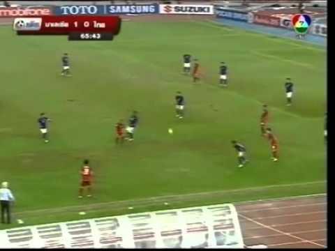 Malaysia vs Thailand AFF Suzuki Cup 2012 1st leg 2nd half