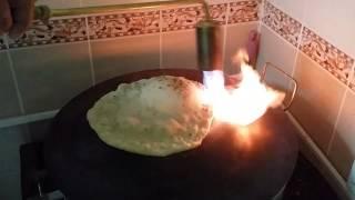 خبز إيراني بدون تنور