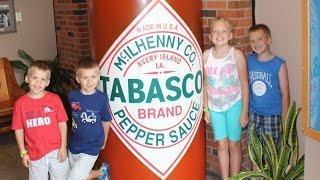 Tabasco Ice Cream Challenge & Factory Tour