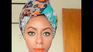 getlinkyoutube.com-5 ways to style a turban || featuring TheWrapLife