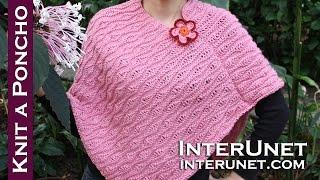 getlinkyoutube.com-How to knit a poncho