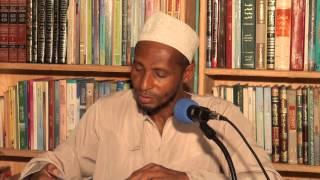 Darsa ya Fiqh: Ustadh Uthaman Saggaf (Nguzo za Uislamu 1)