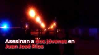 getlinkyoutube.com-Asesinan a dos jóvenes en Juan José Ríos