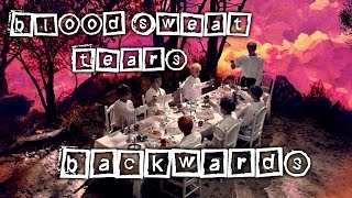 BTS Blood, Sweat and Tears Backwards