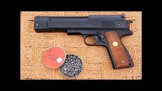 getlinkyoutube.com-The Weihrauch HW 45 (Beeman P-1) spring piston air pistol - a review
