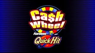 getlinkyoutube.com-BIG WIN!!! Cash Wheel - Bally Slot Machine Bonus