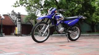 """getlinkyoutube.com-Chi tiết """"cào cào"""" cỡ nhỏ Yamaha XTZ 125 tại Hà Nội"""