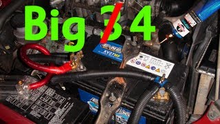 mqdefault big 3(4) upgrade holden jackaroo 3 5l petrol 1 0 gauge how to big 3 wiring diagram at soozxer.org