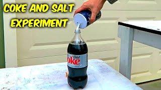 getlinkyoutube.com-What Will Happen If You Mix Coke and Salt?