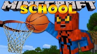getlinkyoutube.com-Minecraft School : BASKETBALL SPORTS DAY!