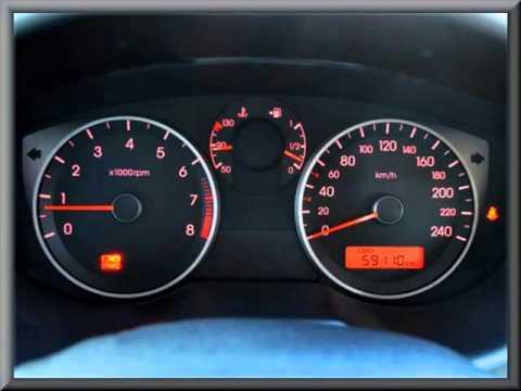 Где в Hyundai ай икс 20 находится привод спидометра