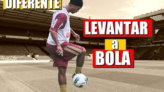 Como levantar a bola igual o Ronaldinho Gaúcho | TUTORIAL FLICK UP R10