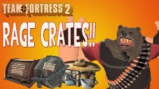 getlinkyoutube.com-TF2: Rage Unboxing - Stockpiles, Audition and a Breadbox Crate