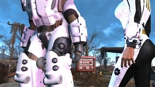 getlinkyoutube.com-FALLOUT 4 MAX X-01 Mk 6 END GAME BEST POWER ARMOR Guide High Level Character Build