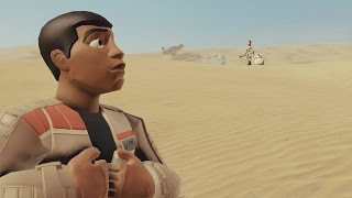 getlinkyoutube.com-Star Wars: The Force Awakens Gameplay Part 1 - Disney Infinity 3.0