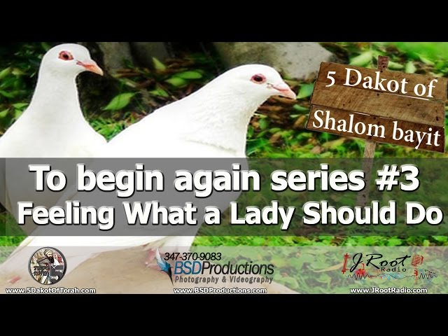 E18 To begin again series #3 - Feeling What a Lady Should Do