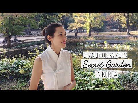 SECRET GARDEN in Seoul🍁🍂Our 5th Anniversary & Mailing Address 국제커플 창덕궁 시크릿 가든 & 소포 주소 (자막 CC)