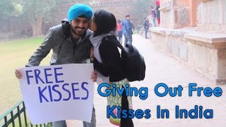 getlinkyoutube.com-Giving Out Free Kisses In India II Sahil Bedi