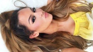 getlinkyoutube.com-Ariana Grande Half Up Half Down Hair Tutorial