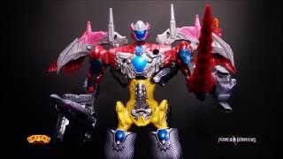 Smyths Toys - Power Rangers Movie Battle Zords and Mega Zord!