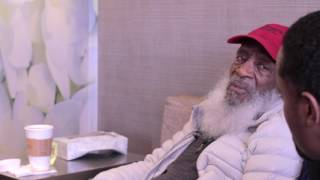 Dick Gregory full length conversation with Good Twin Bad Twin