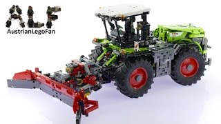 getlinkyoutube.com-Lego Technic 42054 Claas Xerion 5000 Trac VC B-Model - Lego Speed Build Review