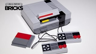 Lego My First Game Console Sprite Edition Speed Build designed by Chris McVeigh