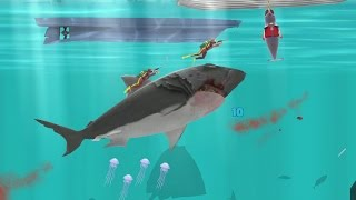 Hungry Shark Evolution -Natasha The Narwhal Android Gameplay #22