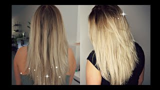 getlinkyoutube.com-HOW TO DARKEN ROOTS AT HOME | Hair Tutorial