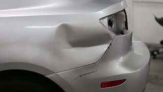 getlinkyoutube.com-Big Dent | Paintless Collision Repair | San Diego