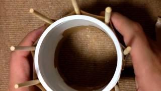 getlinkyoutube.com-5歳の子供でできるマフラーの簡単な編み方 やり方 作り方 編み物