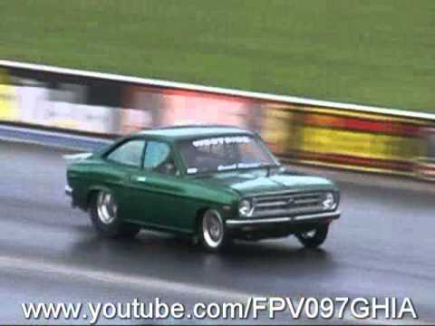 2JZ POWERED DATSUN 1200 COUPE RUNS 7.89 @ 172 MPH AT SYDNEY DRAGWAY - TEST N TUNE 22/1/2011