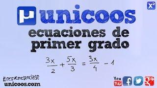 Imagen en miniatura para Ecuación racional 01 SECUNDARIA