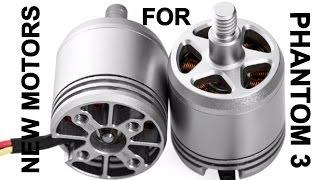getlinkyoutube.com-DJI announce new motors for Phantom 3 range...