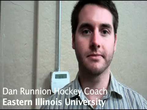 Head Coach Dan Runnion--Eastern Illinois University Hockey 02-11-2012