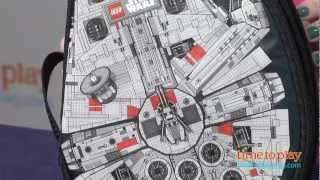 LEGO Star Wars ZipBin Millennium Falcon Storage Case from Neat-Oh!