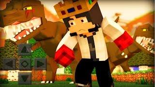 getlinkyoutube.com-Minecraft PE 0.13.0 - PARQUE DOS DINOSSAUROS MOD! (Pocket Edition)