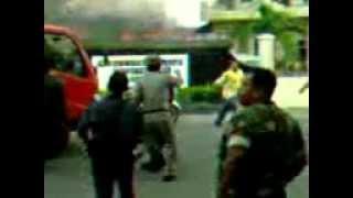 getlinkyoutube.com-TNI AD VS Polri OKU dan Kantor Polri Hancur