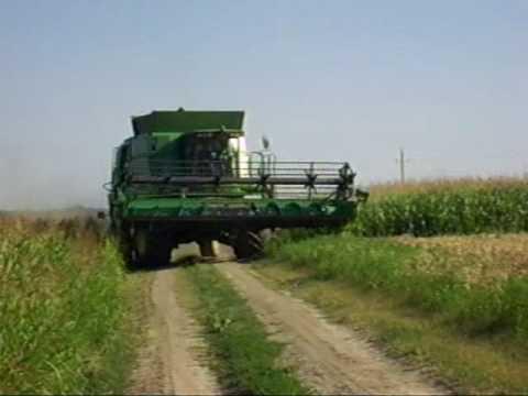 John Deere W660 JD 6820 búza aratás Wheat harvest