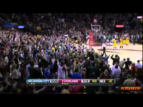 Kyrie Irving 13pts in the last 2:51 against OKC Thunder (2013.02.02)