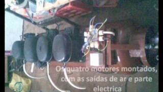 getlinkyoutube.com-Compressor 100 l caseiro