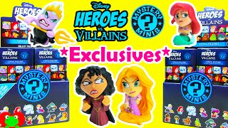 getlinkyoutube.com-Disney Heroes vs Villains Mystery Minis Hot Topic Exclusives Rapunzel Mother Gothel