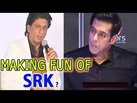 Jai Ho | Salman Khan making fun of  Shahrukh Khan's six pack abs
