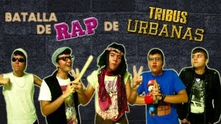 getlinkyoutube.com-BATALLA DE RAP DE TRIBUS URBANAS | Keyblade